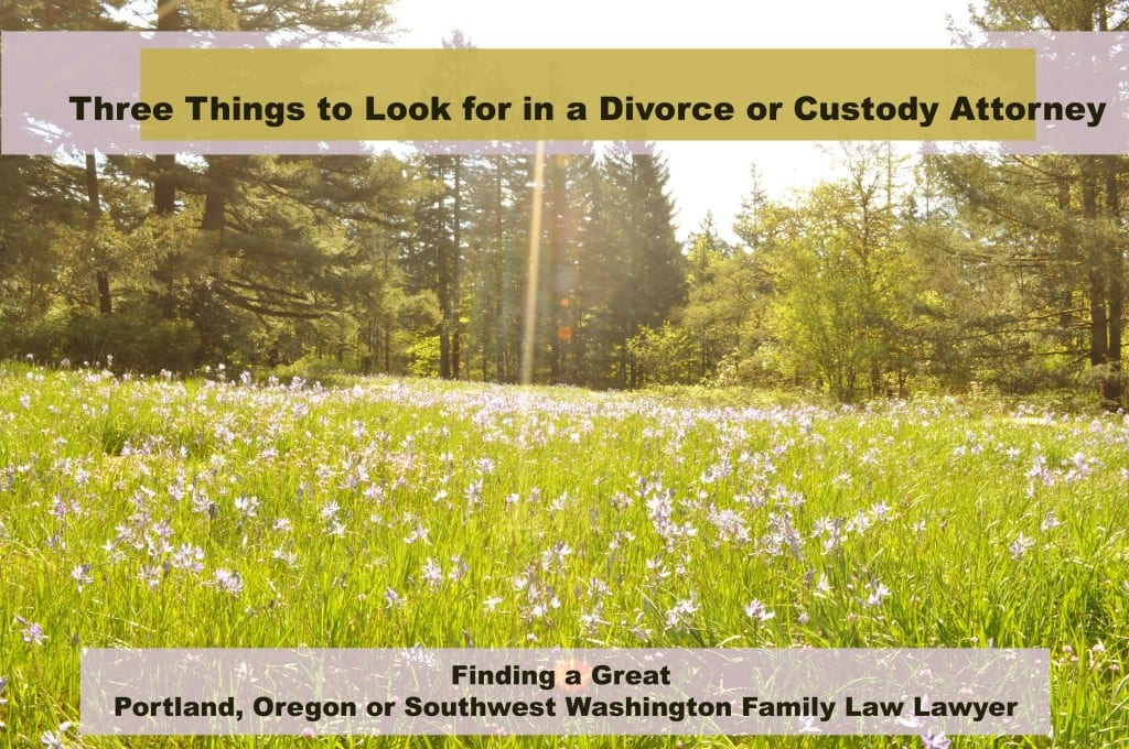 How to choose a family law attorney in Portland, Oregon
