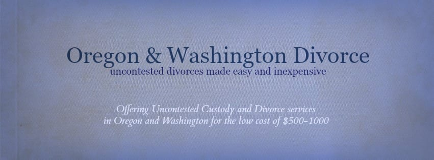 Brasier Law offers low cost easy divorce in Oregon and Washington
