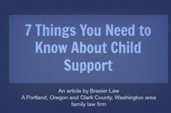 What do you need to know about child support? Our child custody attorney tells you 7 things you need to know about it.
