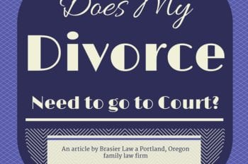 Does my divorce need to go to court