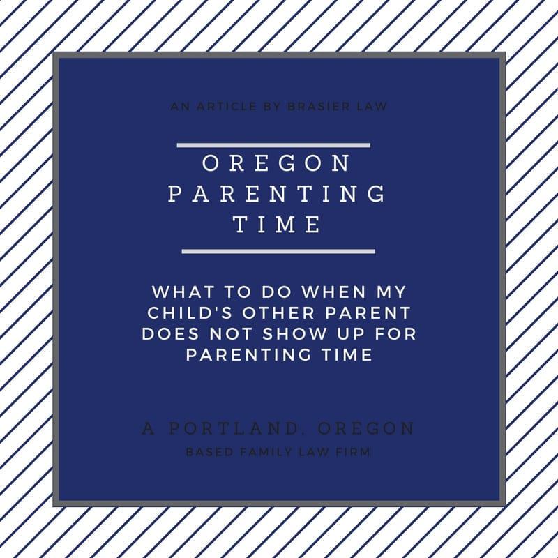 Oregon Parenting Time