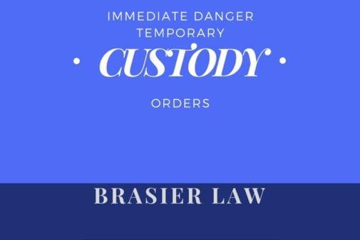 Immediate danger Custody orders in Oregon