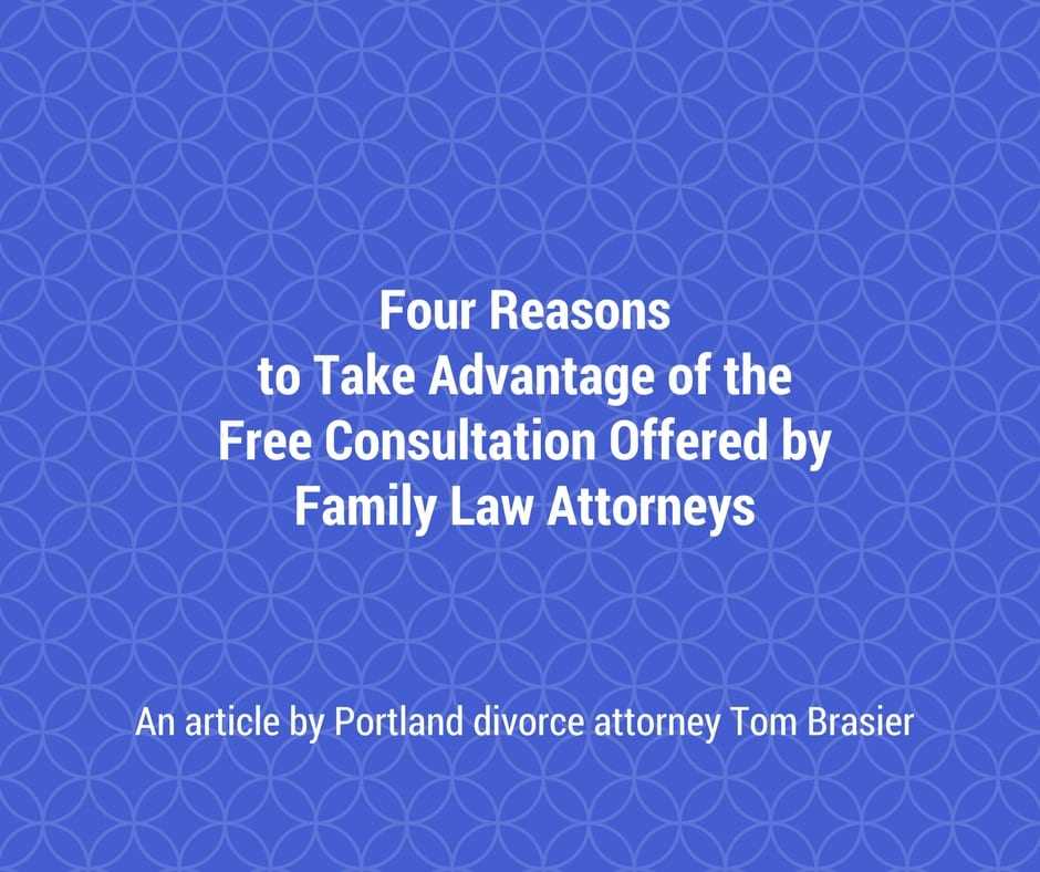 Take advantage of the free consultation divorce attorneys offer
