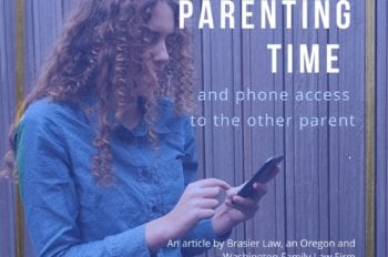 How much can I call my child when they are at the other parent's? Telephone access during the other parent's parening time.