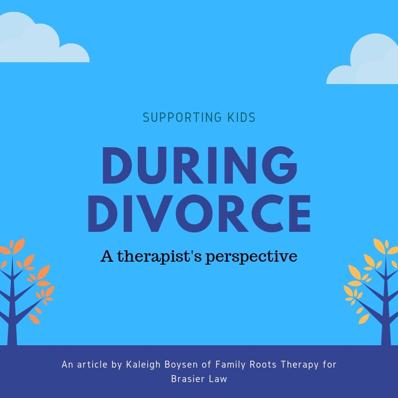 Supporting kids during divorce