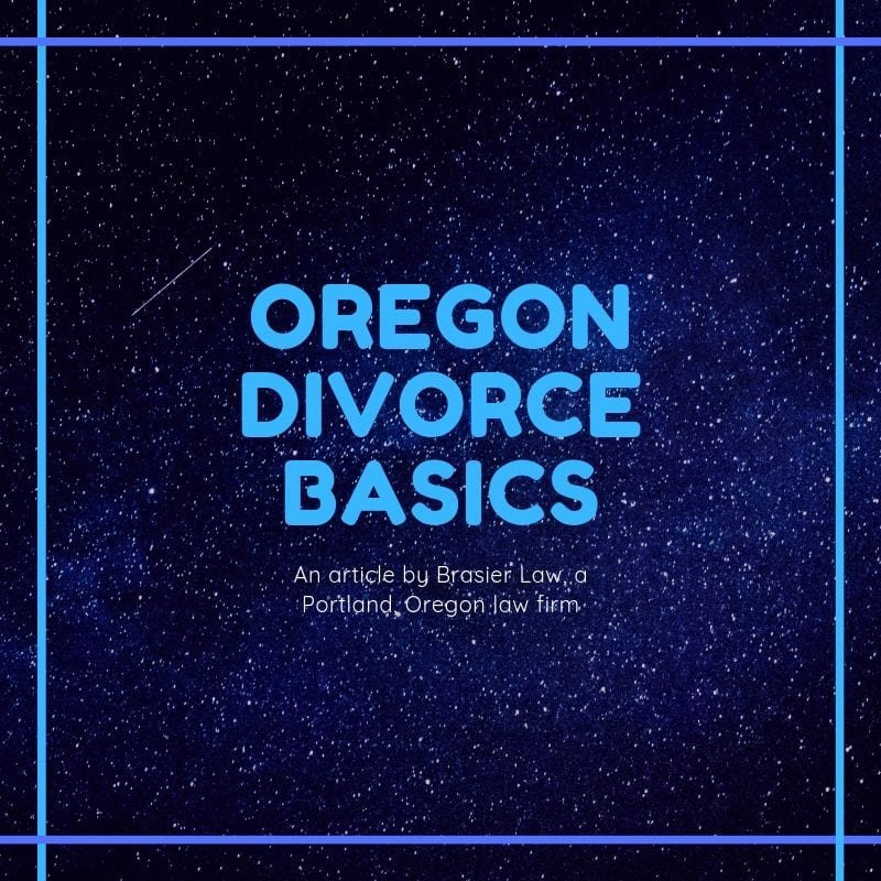 Portland, Oregon family law divorce basic. Custody, child support, spousal support, division of assets and debt, parenting time are covered in this introduction to how divorce works in Oregon.