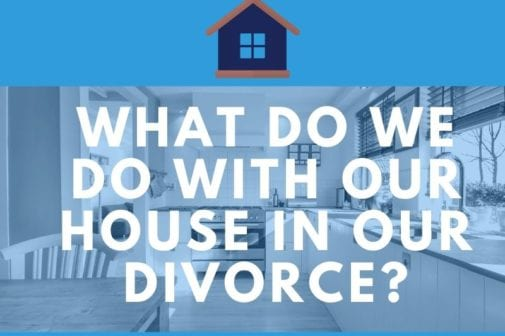 What happens to the house in a divorce in Oregon