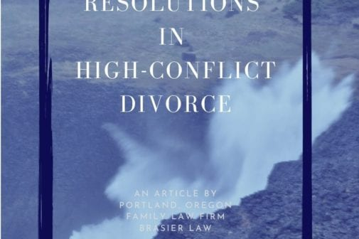 Finding resolutions in high-conflict divorce