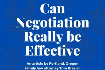 divorce negotiation really effective
