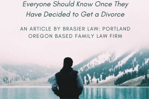 Title photo, 4 things everyone should know once they decide to get a divorce